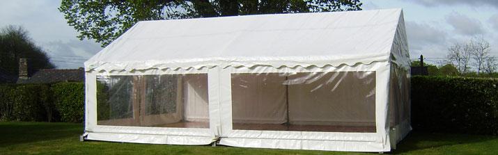 la location d 39 une tente de reception. Black Bedroom Furniture Sets. Home Design Ideas