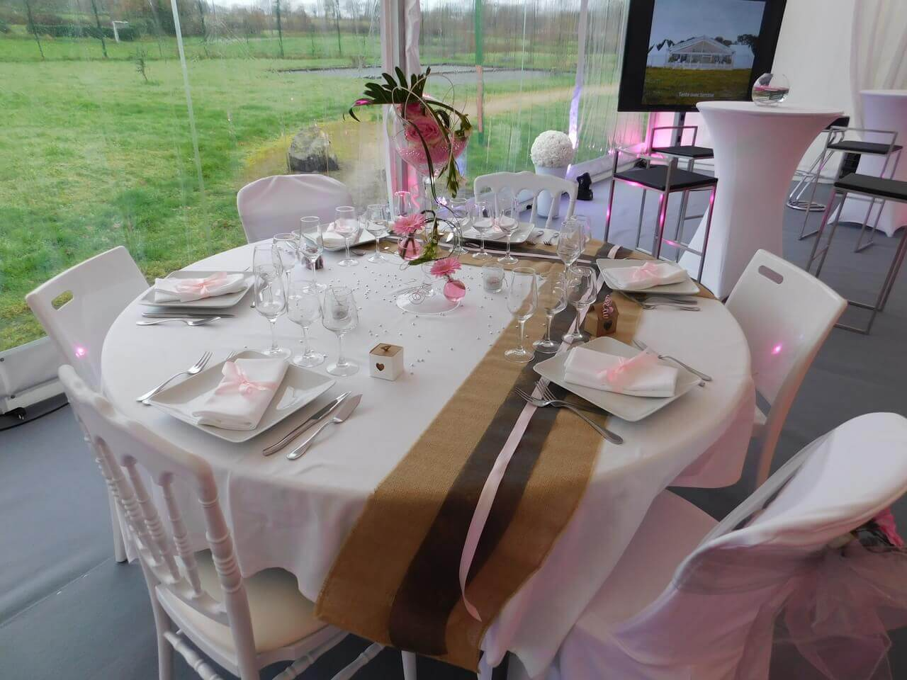 Table salon du mariage
