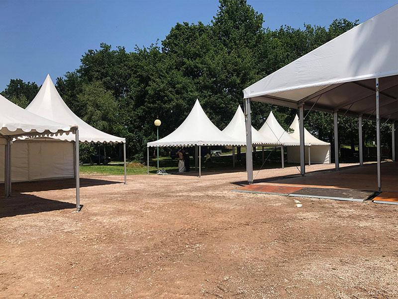 Montage de votre tente de réception